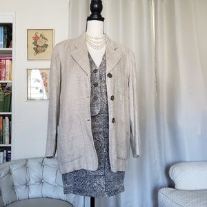 Ann Taylor Dresses - Vintage AT linen 3 pc suit sz 4